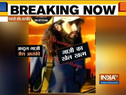 J-K: पुलवामा आतंकी हमले का मास्टरमाइंड अब्दुल रशीद गाजी और जैश का कमांडर कामरान सैन्य ऑपरेशन में ढेर