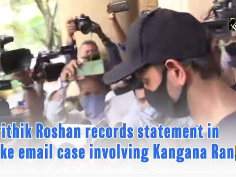 Hritihik Roshan records statement in fake email case involving Kangana Ranaut