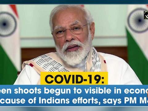 COVID-19: Green shoots begun to visible in economy because of Indians efforts, says PM Modi