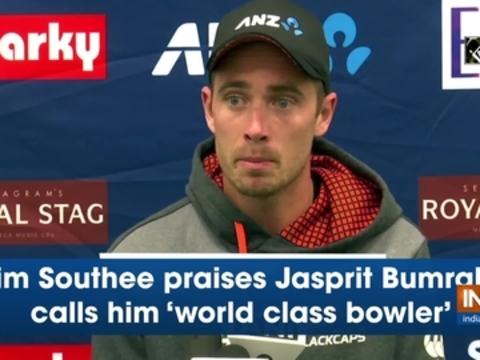 Tim Southee praises Jasprit Bumrah, calls him 'world class bowler'