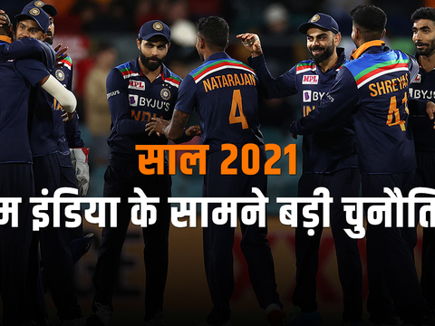 Year 2021 brings tough challenges from Team India