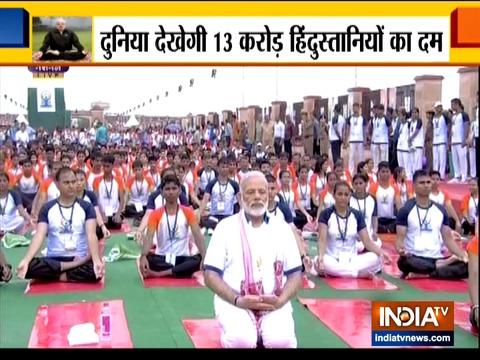 पांचवे योग दिवस पर रांची में योग करेंगे प्रधानमंत्री मोदी