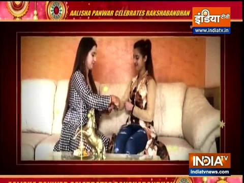 Here's how Ishq Mein Marjawan actress Aalisha Panwar celebrated Raksha Bandhan 2020