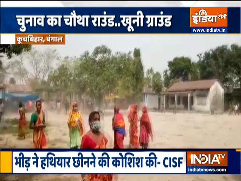 बंगाल: EC ने चौथे चरण के मतदान के दौरान हिंसा के बाद कूच बिहार में राजनेताओं के प्रवेश पर लगाया प्रतिबंध