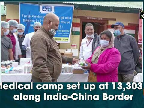 Medical camp set up at 13,303 ft along India-China Border