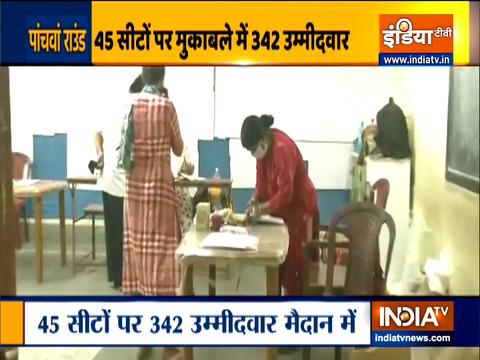 बंगाल चुनाव 2021: कुल 45 निर्वाचन क्षेत्रों में पांचवें चरण के चुनाव के लिए मतदान आज