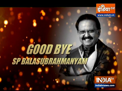 Good Bye SP Balasubrahmanyam! Iconic singer laid to rest with state honours