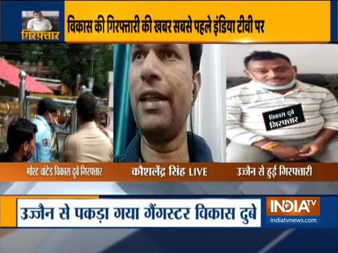 SHO Kaushlendra Singh involved in Kanpur encounter reacts to gangster Vikas Dubey's arrest