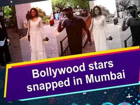 Bollywood stars snapped in Mumbai