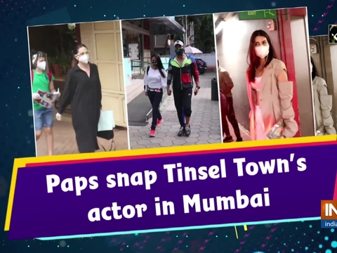 Paps snap Tinsel Town's actor in Mumbai