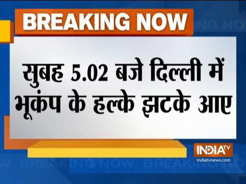 Earthquake strikes Delhi on Christmas morning