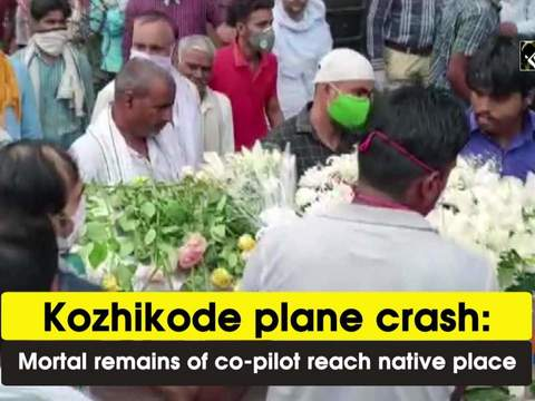 Kozhikode plane crash: Mortal remains of co-pilot reach native place