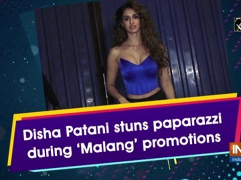 Disha Patani Stuns Paparazzi During Malang Promotions