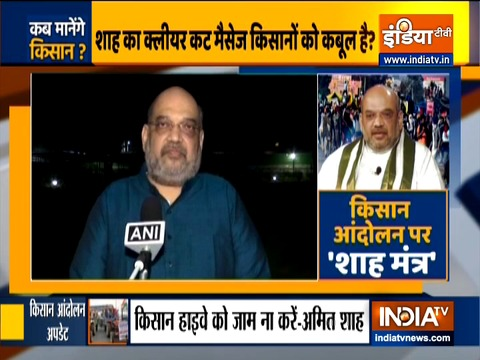 Delhi Chalo: Government is ready for talks, says Amit Shah in appeal to protesting farmers