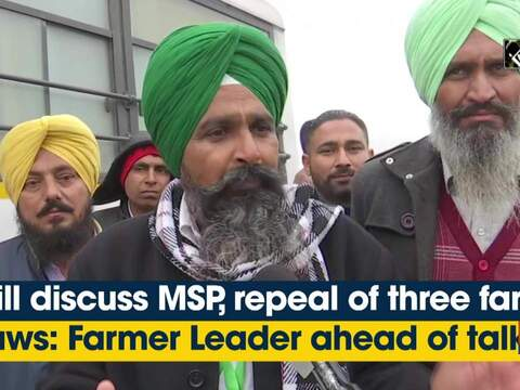 Will discuss MSP, repeal of three farm laws: Farmer Leader ahead of talks