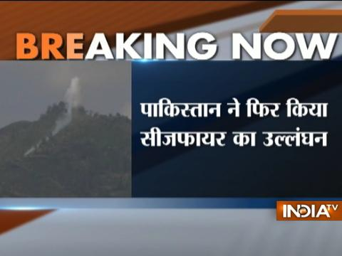 Ceasefire violation by Pakistan in Arnia Sector of Jammu and Kashmir