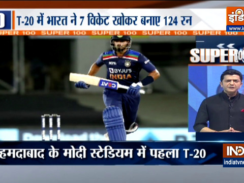 IND vs ENG, 1st T20I: Jofra Archer-inspired England restrict India to 124 for 7 despite Shreyas Iyer's fighting fifty