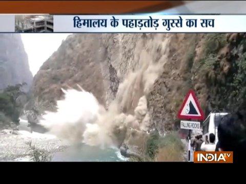 Himachal Pradesh: Massive landslides in parts of the state