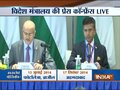 MEA briefs media over PM Narendra Modi's meet with Chinese President Xi Jinping