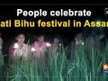 People celebrate Kati Bihu festival in Assam