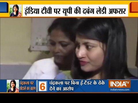 इंडिया टीवी के 'चक्रव्यूह' में IAS चन्द्रकला