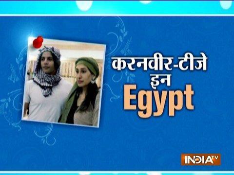 Karanvir Bohra, Teejay Sidhu have fun in Egypt