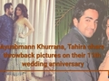 Ayushmann Khurrana, Tahira share throwback pictures on their 11th wedding anniversary