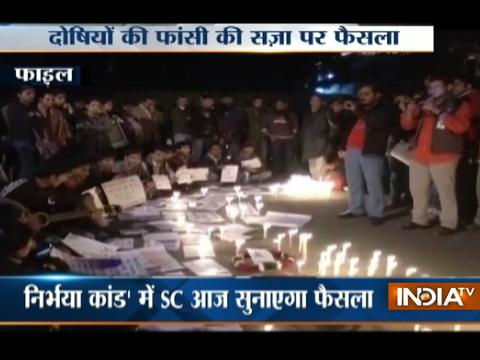 Supreme Court to deliver verdict todayon Nirbhaya gang-rape case