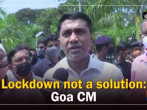 Lockdown not a solution: Goa CM