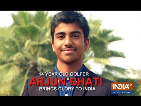 Arjun Bhati Wins US Kids Junior Golf World Championship 2018