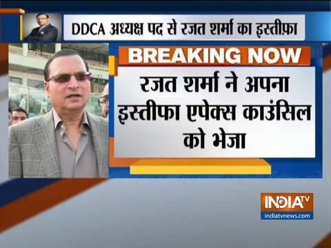 डीडीसीए के अध्यक्ष पद से रजत शर्मा ने दिया इस्तीफ़ा
