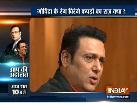 Aap Ki Adalat: Govinda reveals reason behind his vibrant outfits