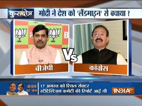 IndiaTV Kurukshetra, Sept 2: As PM Modi said, had Congress left the economy on landmine?