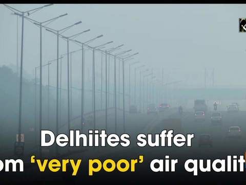 Delhiites suffer from 'very poor' air quality