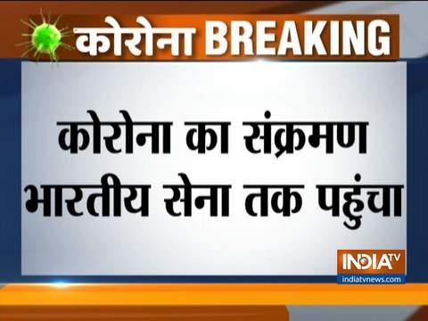 भारतीय सेना के दो अधिकारी कोरोना टेस्ट में पॉजिटिव पाए गए