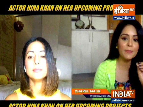 As an actor I am driven towards realistic subjectL Hina Khan on Unlock