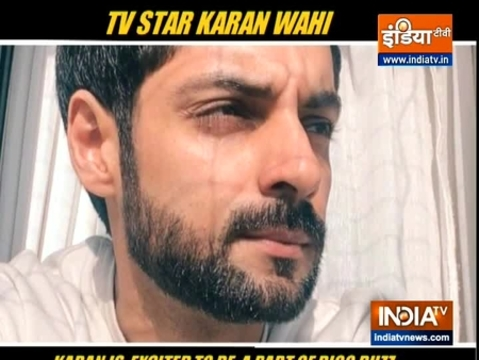 Karan Wahi on being a part of Bigg Boss 14 scoops