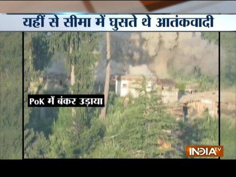Video shows Indian army destroying Pak bunkers at PoK