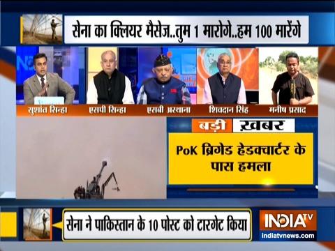 सेना ने PoK में उड़ाए 10 आतंकी कैंप, 6 आतंकवादी ढेर, पाकिस्तान ने की भारतीय कार्रवाई की पुष्टि