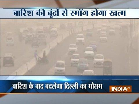 Delhi pollution: Light rains likely to clear smog, air quality expected to improve