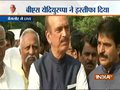 Ghulam Nabi Azad congratulate the MLAs of Congress, JD(S) for standing by party leadeship