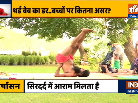 Learn yoga and Ayurvedic treatment from Swami Ramdev to protect children from Covid's new variant Delta Plus