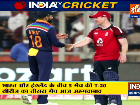 IND vs ENG, 3rd T20I: Buoyant India look to slow it down against England