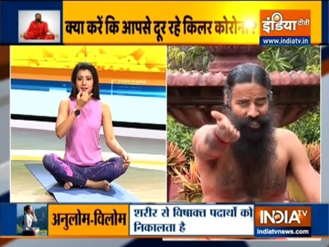How long should you do yoga and pranayam? Know from Swami Ramdev