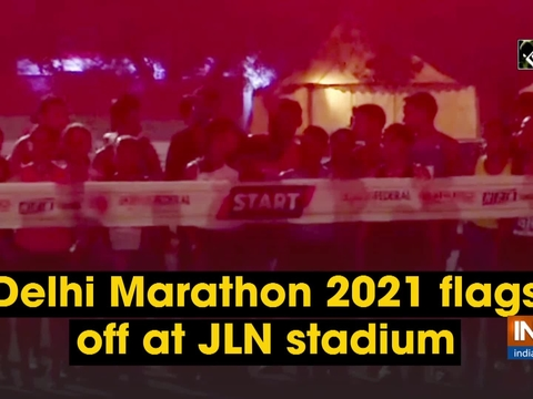 Delhi Marathon 2021 flags off at JLN stadium