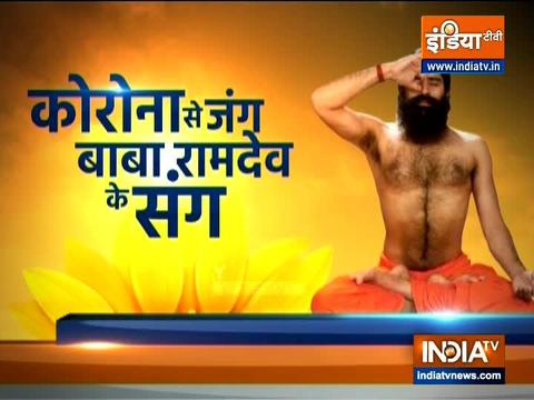 Swami Ramdev shares yoga asanas for glowing and healthy skin