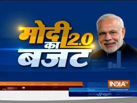 वित्त मंत्री निर्मला सीतारमण ने कहा कि बजट को 10 साल के विजन के साथ पेश किया गया है