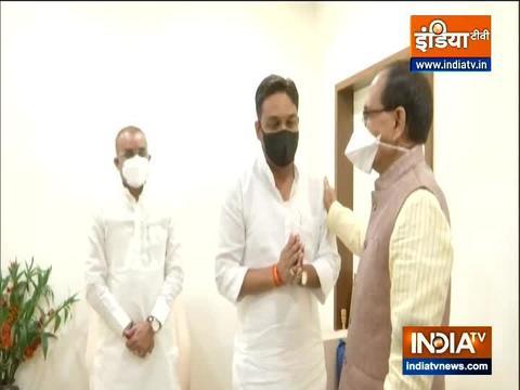 मध्य प्रदेश: कांग्रेस के पूर्व विधायक राहुल लोधी भाजपा में शामिल