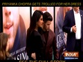 Priyanka Chopra gets trolled for wearing thigh-high slit dress at Chasing happiness Premiere