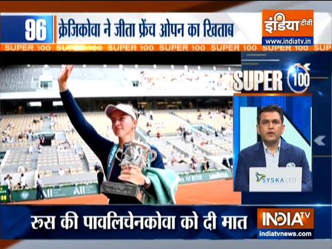 Super 100: चेक गणराज्य की बारबोरा क्रेजिकोवा ने जीता फ्रेंच ओपन का खिताब